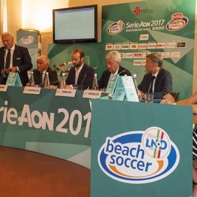 Beach Soccer - 2017 - Tappa 1 - Firenze Day Conferenza stampa